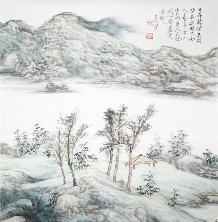 Galerie Fenghe Tang Chinesische Kunst - Chinese Doufang Landscape