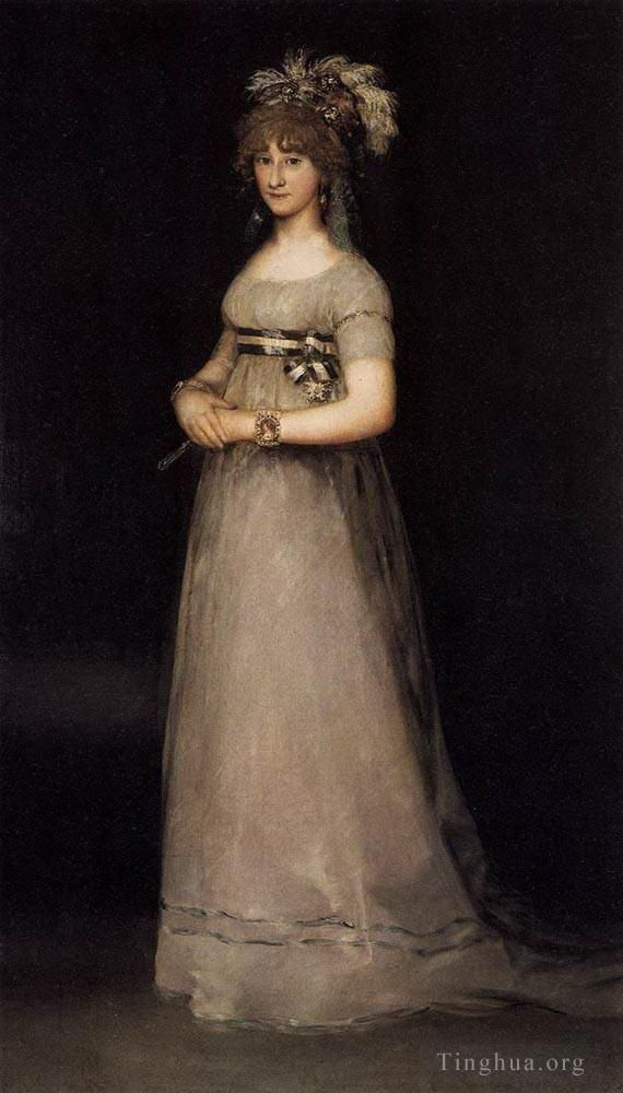 Francisco Goya Ölgemälde - Portrait of the Countess of Chincon