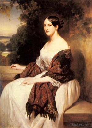 Portrait Of Madame Ackerman royalty