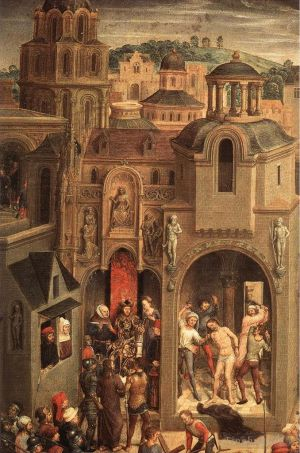 Scenes from the Passion of Christ 1470detail4