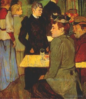 Corner in the moulin de la galette 1892