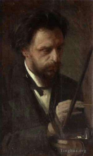 Portrait of the Artist Grigory Myasoyedov