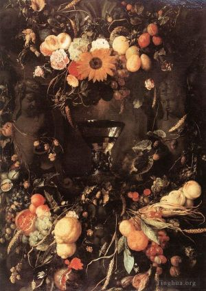 Fruit And Flower Still Life