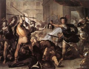 Perseus Fighting Phineus And His Companions