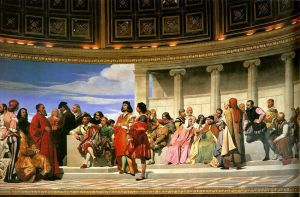 Hemicycle of the Ecole des BeauxArts 181left life size