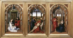 Mary Altarpiece Miraflores Altarpiece