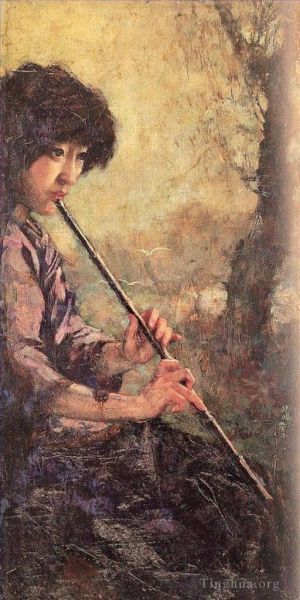 The sound of the flute